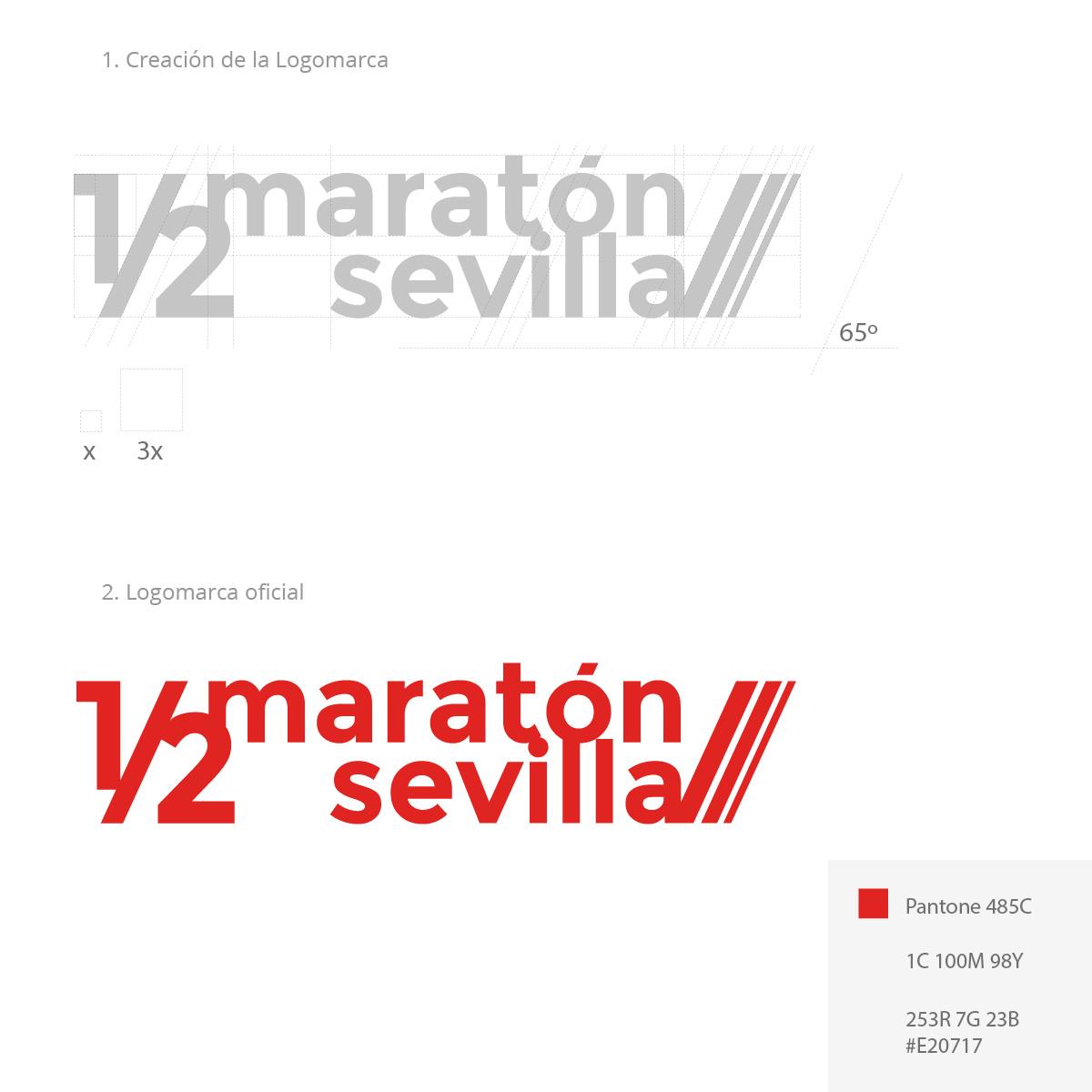 Logo Media Maraton Sevilla