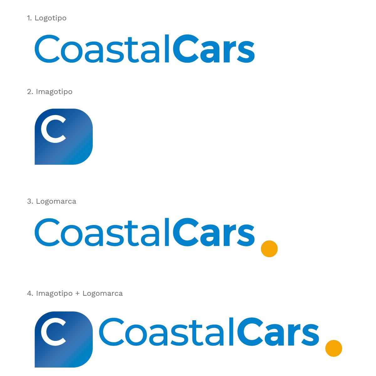 Diseño Logo Coastal Cars por Estudio Situación Crítica