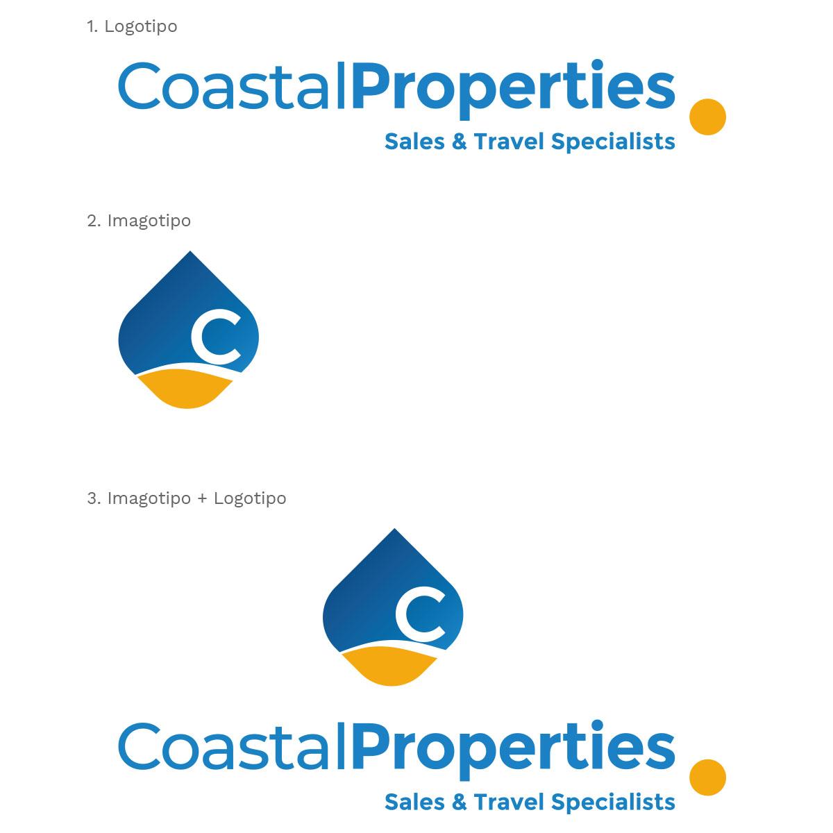Diseño Logo Coastal Properties por Estudio Situación Crítica